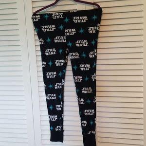 Star Wars Sleepwear Pajama Pants, Size Small